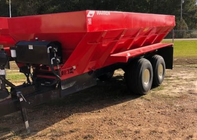 Used Warren 20' Litter/Lime Hydraulic Spreader  Call Karl 601-267-9643